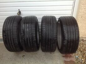 BMW Z4 wheels and tyres