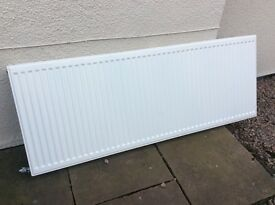 Modern finned radiator 1600 x 600. Reason for selling is redesigning bedroom so not required.