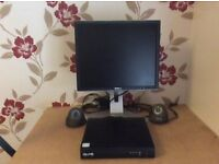 Qvis cctv surveillance camera x 2 ,Monitor, recorder, infrared, good condition