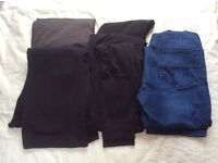 Size 10 maternity top and trouser bundle