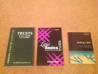 Scottish Law Books - Trusts / Making a Will