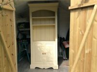 Pine dresser painted cream