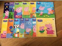 Bundle of 13 Peppa Pig Books