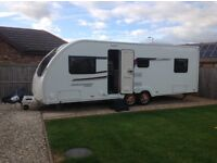 Reluctant sale under 2years old lovely 6 berth caravan