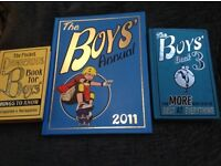 3 X Books for Boys - The Pocket Dangerous Book for Boys, Boys Annual and Book for Boys 3