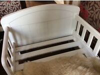 Gorgeous East Coast Toddler Bed - White