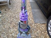 Dyson ball Hoover with attachments needs slight attention,picks up ok,
