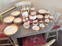 Winchester Duchess Bone China Dinner Service, Used , still in excellent condition, 51 peice set
