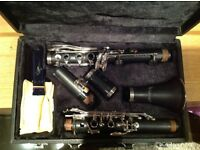 Artemis clarinet by Trevor James