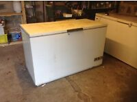 Chest freezers ,large ones,two of,£95.00 each.