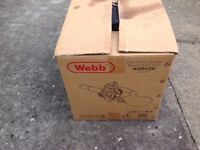 Webb welt 26 petrol leaf blower/ vac
