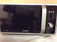 SAMSUNG MS23F301TAS microwave with 3 month warranty