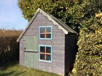 Children's two storey playhouse