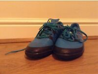 Sports Direct football trainers Size 5 half