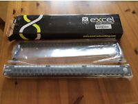 10no. Excel CAT 6 24 port 1 U patch panel in black