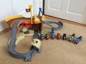 Fisher Price Thomas at Pirate Cove Set with Trains