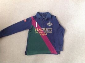 Hackett boys rugby top age 7-8 years
