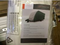 Caravan cover to fit Bailey unicorn Cadiz never been used still in bag as sold caravan cost £380