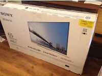 Brand new boxed Sony 65-inch Smart 3D ULTRA SLIM ANDROID TV,built in Wifi,Freeview HD with YOUVIEW