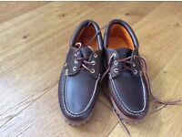 Timberland Authentics boat shoes size 7.5 new