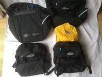 Altura cycle panniers 2 front (32ltrs) & 2 rear (46ltrs) with waterproof covers