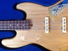 Custom Fender Jazz bass