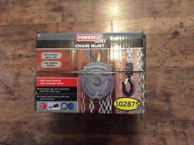 Powerfix 1ton chain hoist