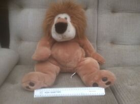 4 new cute lion/tiger soft toys