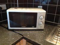 Cookworks Silver Microwave good working order