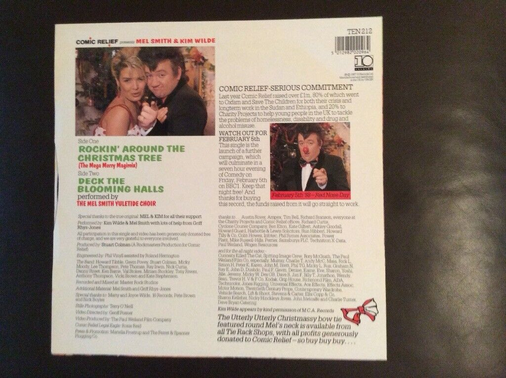 Rockin Around The Christmas Tree Mel And Kim.Mel Kim Rockin Around The Christmas Tree 12 Vinyl Excellent Condition In Colchester Essex Gumtree