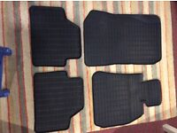 BMW X1 Rubber mat set. (Get ready for winter)