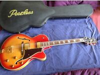Peerless Sunset 2014 as new with Peerless deluxe case £575 (buyer collects)
