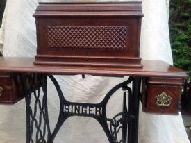 Singer sewing machine 1890s