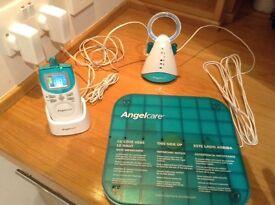 Angelcare AC401 baby sleep monitor with sensor pad
