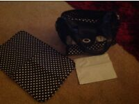 Bag, never used includes changing and nappy bag. C my other stuff please. ,