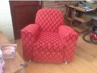 1930s armchair recently recovered immaculate condition