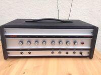 Wem AX100 amplifier.