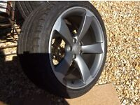 Genuine Audi A5/S5 Rota Wheels And Tyres