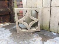 36 Decorative building garden blocks
