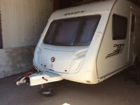 Swift Charisma 550 fixed bed touring caravan with everything you need to start your adventures
