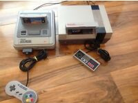 SNES & NES Consoles £65 for everything Mario, Looney Tunes Road Super Nintendo Entertainment System