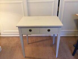 Rustic writing desk (Chalk White)