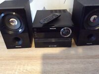 PHILIPS MICRO CD SYSTEM - NEVER USED.