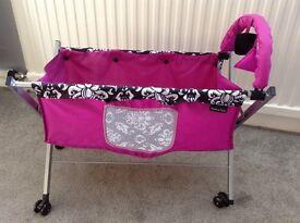 Mamas and Papas Folding Dolls Crib