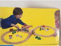Wooden Train Set (3+ Years)