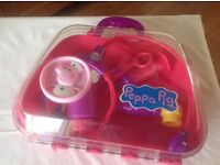 PEPPA PIG FIRST AID/DOCTORS CASE COMPLETE WITH INSTRUMENTS