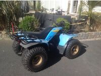 YAMAHA 200 SEMI AUTOMATIC QUAD BIKE