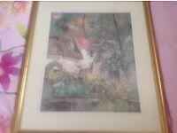 Framed John Lewis print of La Casa by Cezanne