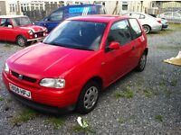 SEAT AROSA S 1.0 3 DOOR POWERSTEERING LOW MILES LONG MOT