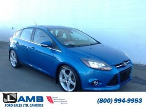 2012 Ford Focus Hatchback 401A Titanium 2.0L Leather MyFord Touc